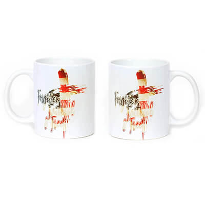 Forgiven, Faithful & Free - USA Flag Mug