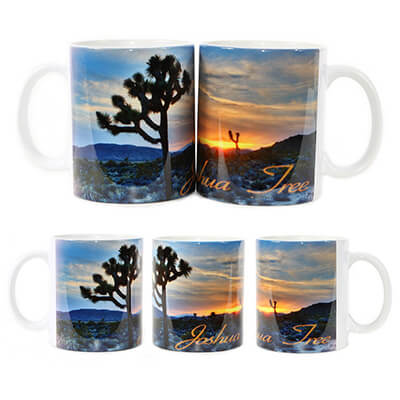 Joshua Tree Orange Sunset Mug