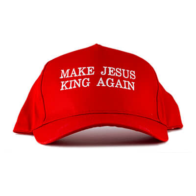 Make Jesus King Again Embroidered Hat