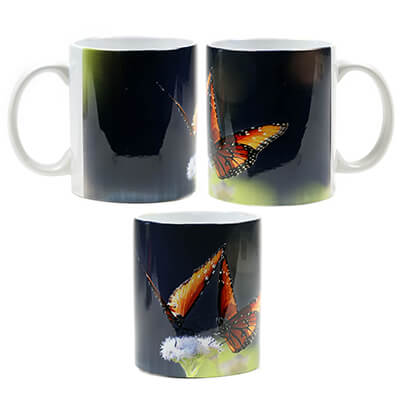 Pair of Queens Butterfly Mug