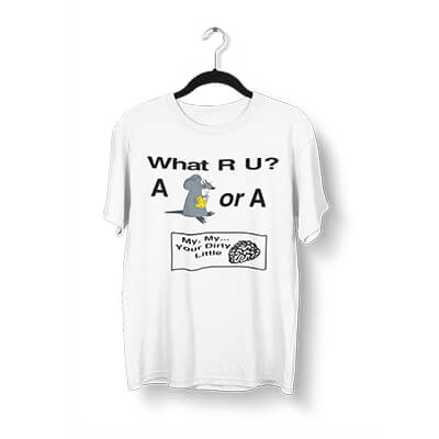 What R U - Your Dirty Little Mind T-Shirt
