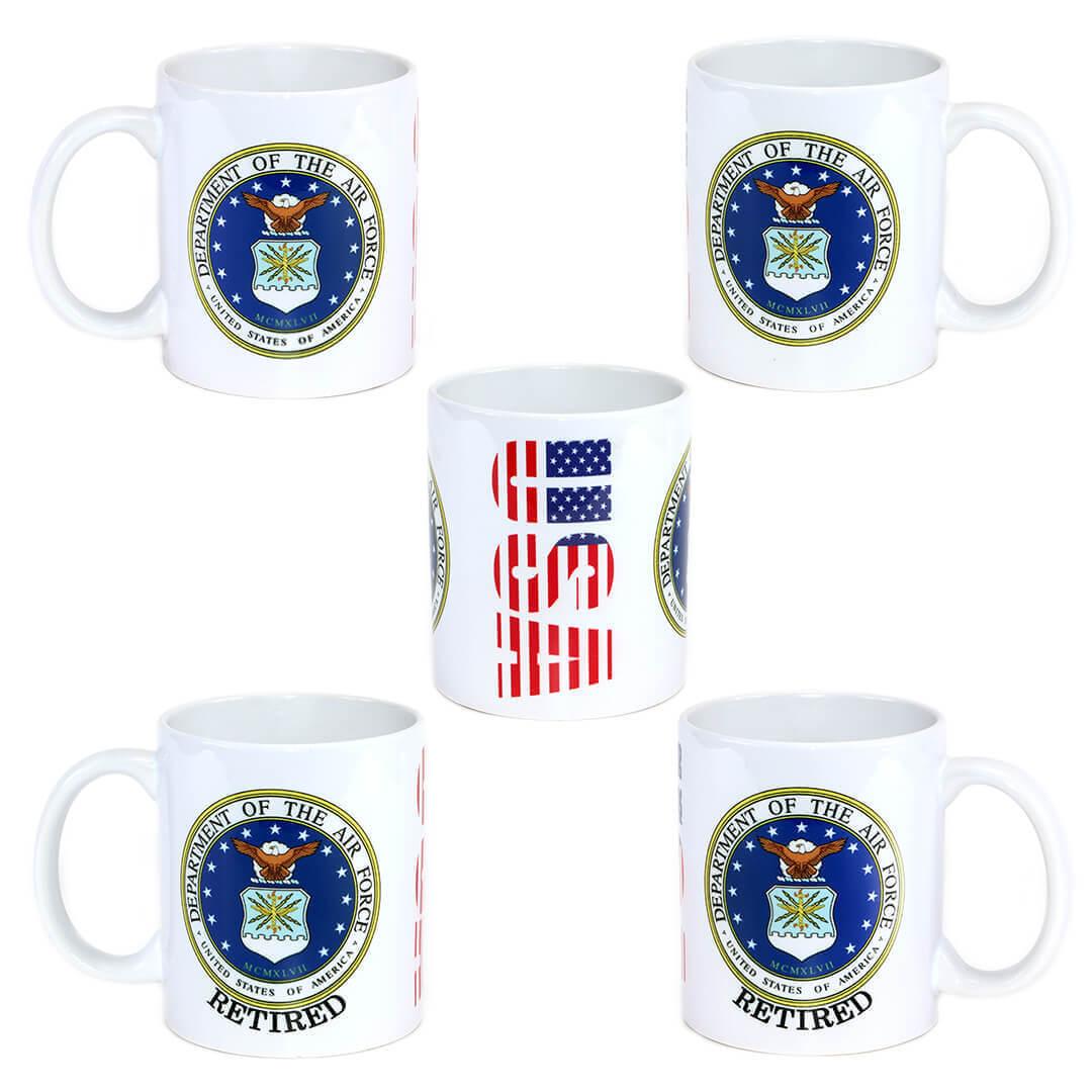 U.S. Air Force Emblem Mug