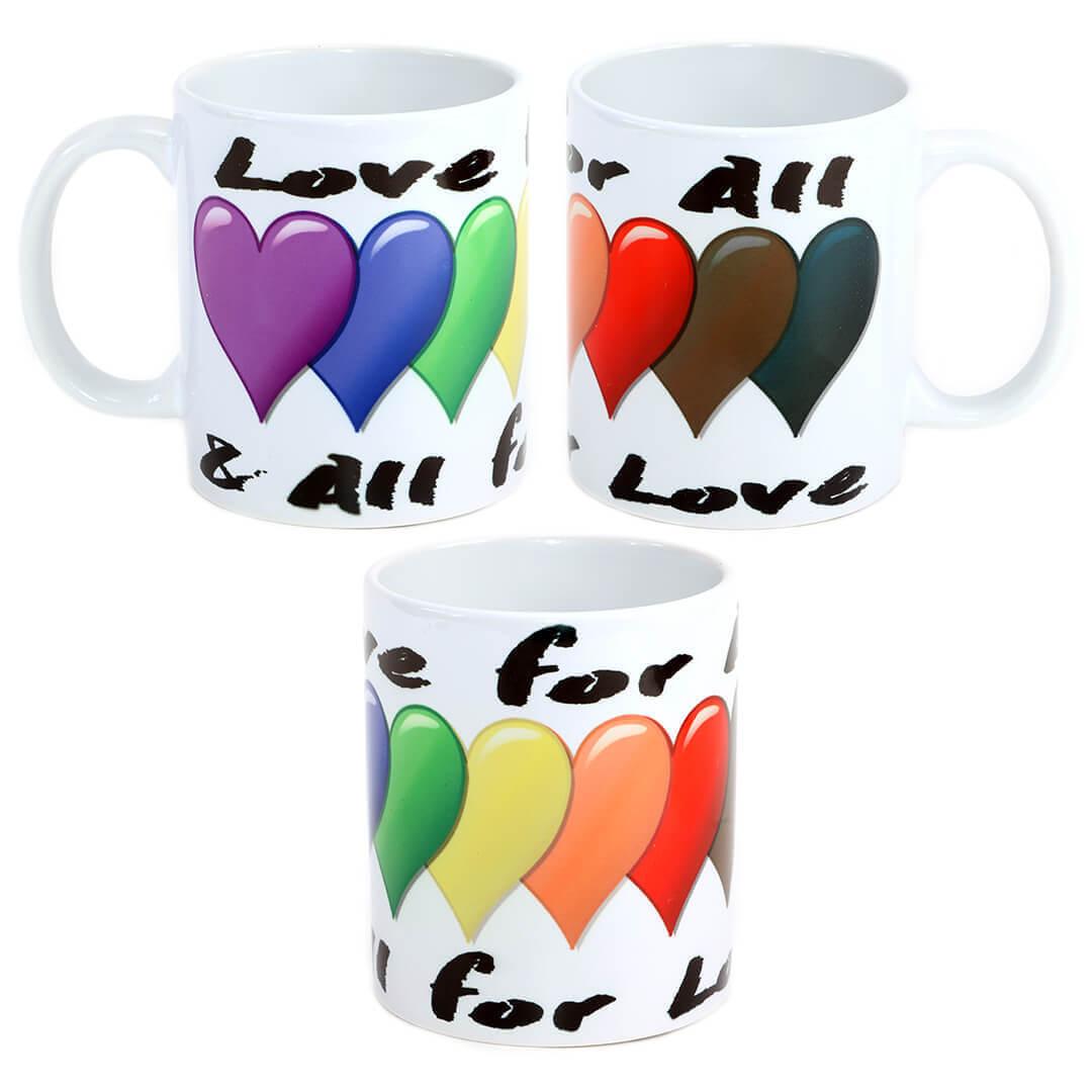 All for Love & Love for All Mug