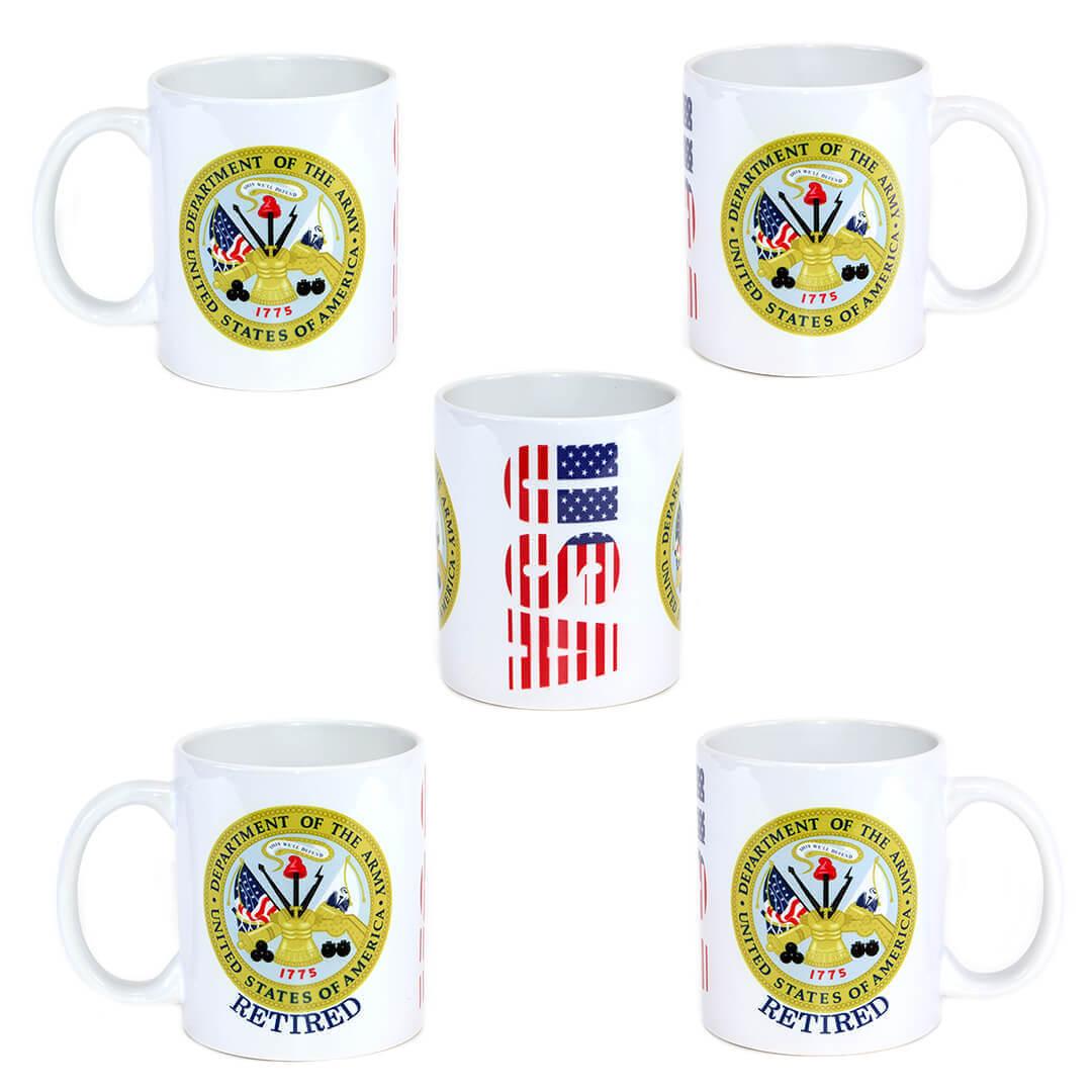 U.S. Army Emblem Mug
