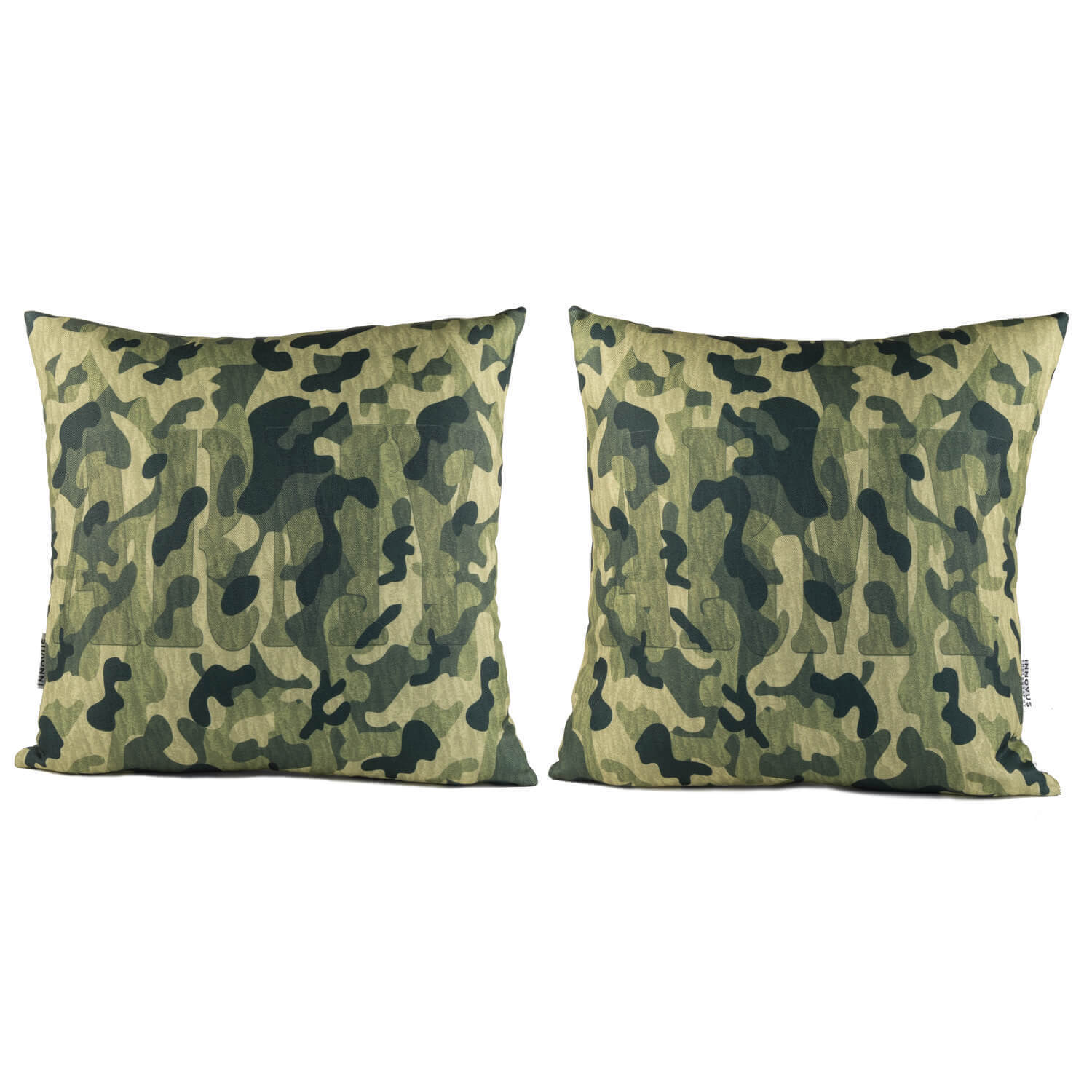 Army Camo 14in Throw Pillow