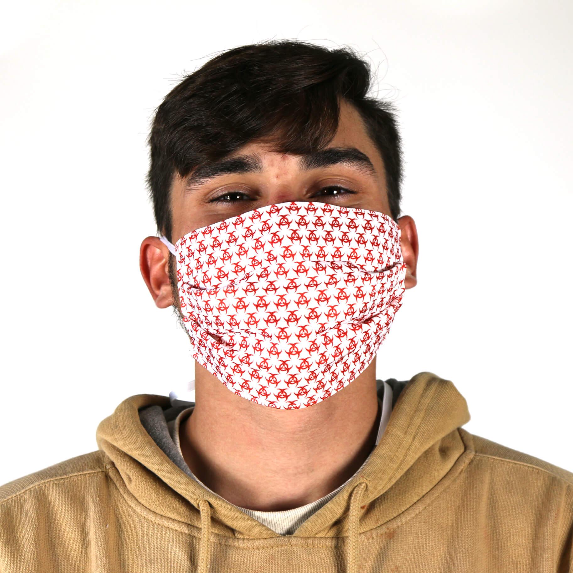 Bio-Hazard Wallpaper Face Mask