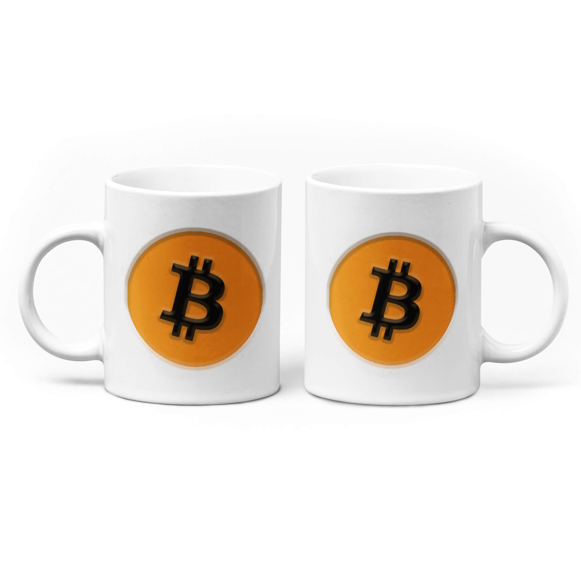Bitcoin Logo Mug