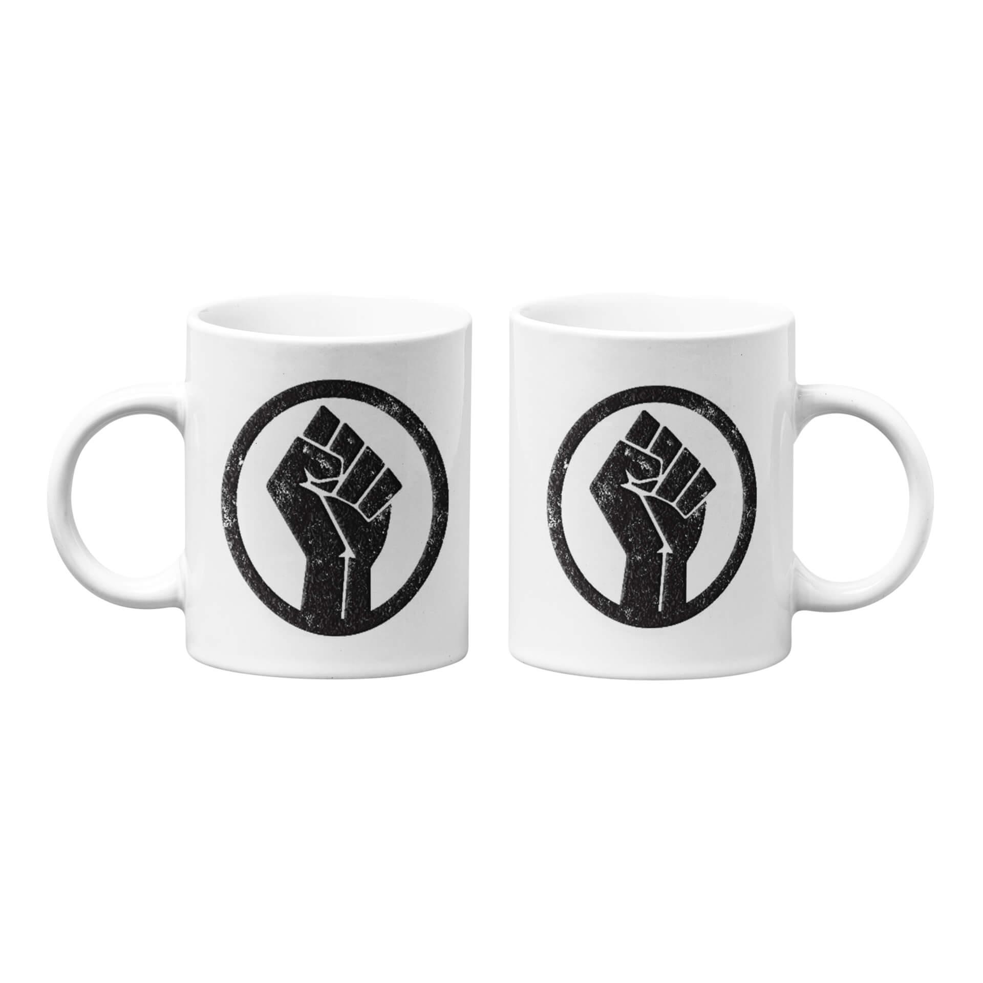 Black Lives Matter Raised Fist Mug
