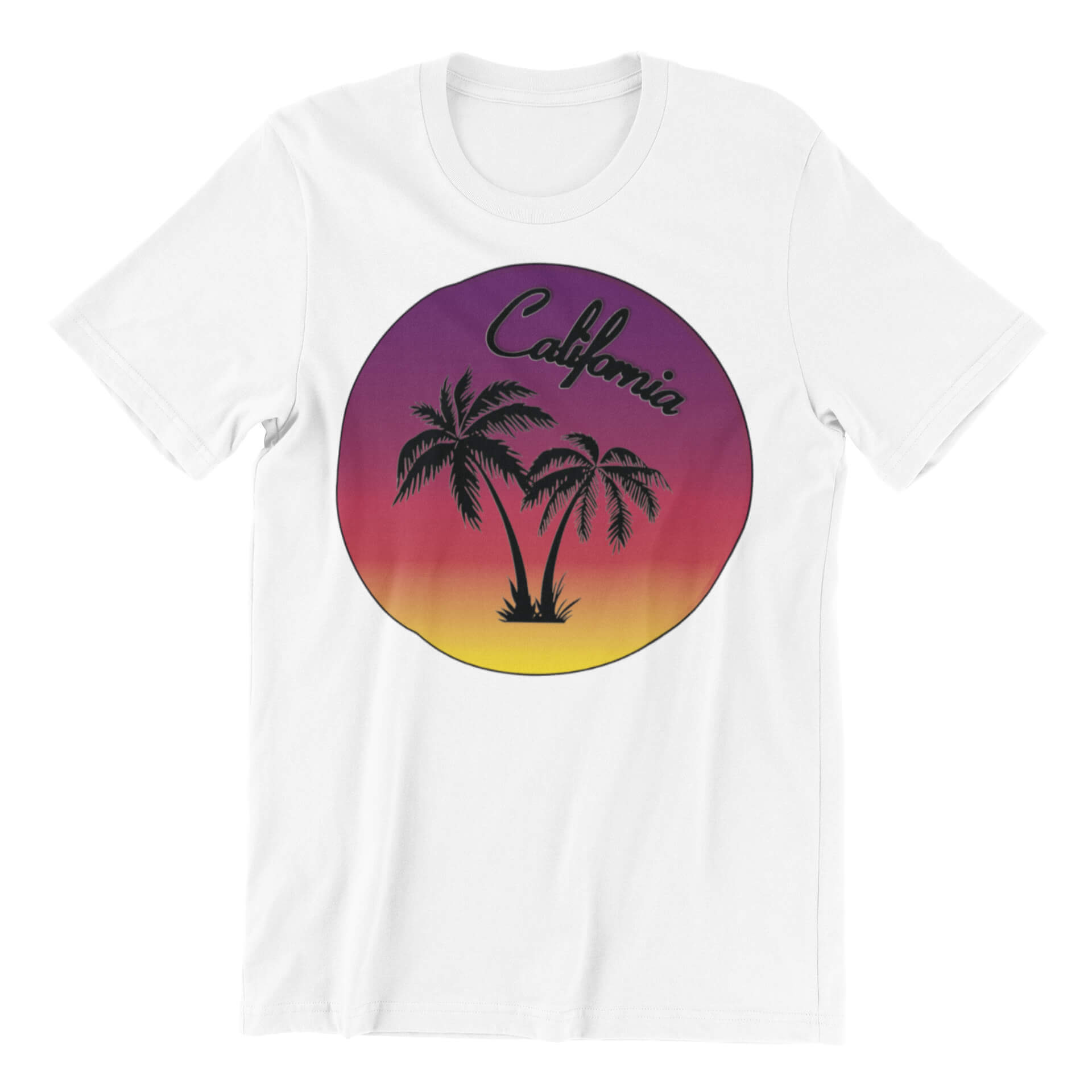 California Sunset Button 01 T-Shirt