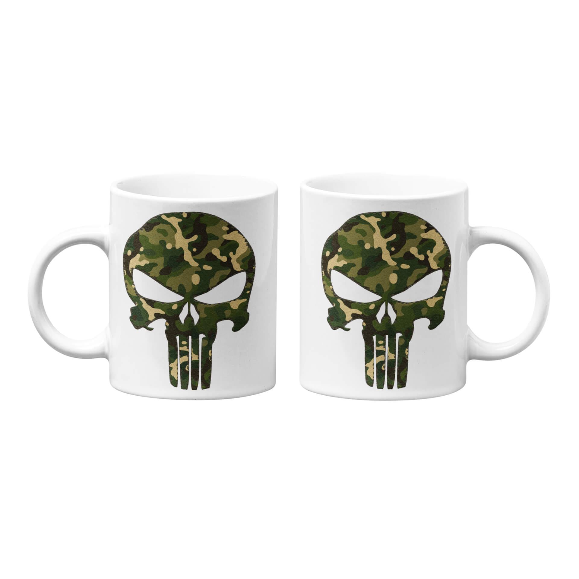 Forest Camo Punisher Mug
