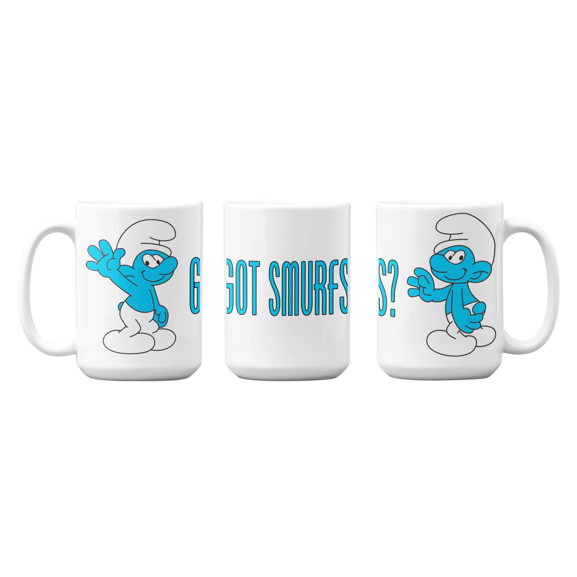 Got Smurfs Mug
