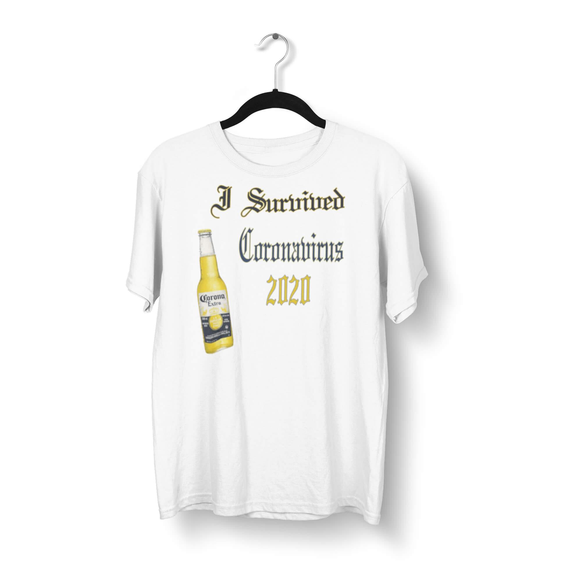 I Survived Coronavirus 2020 T-Shirt