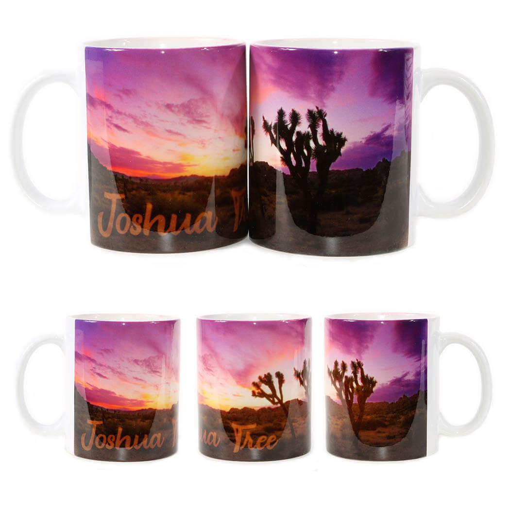 Joshua Tree Purple Sunset Mug