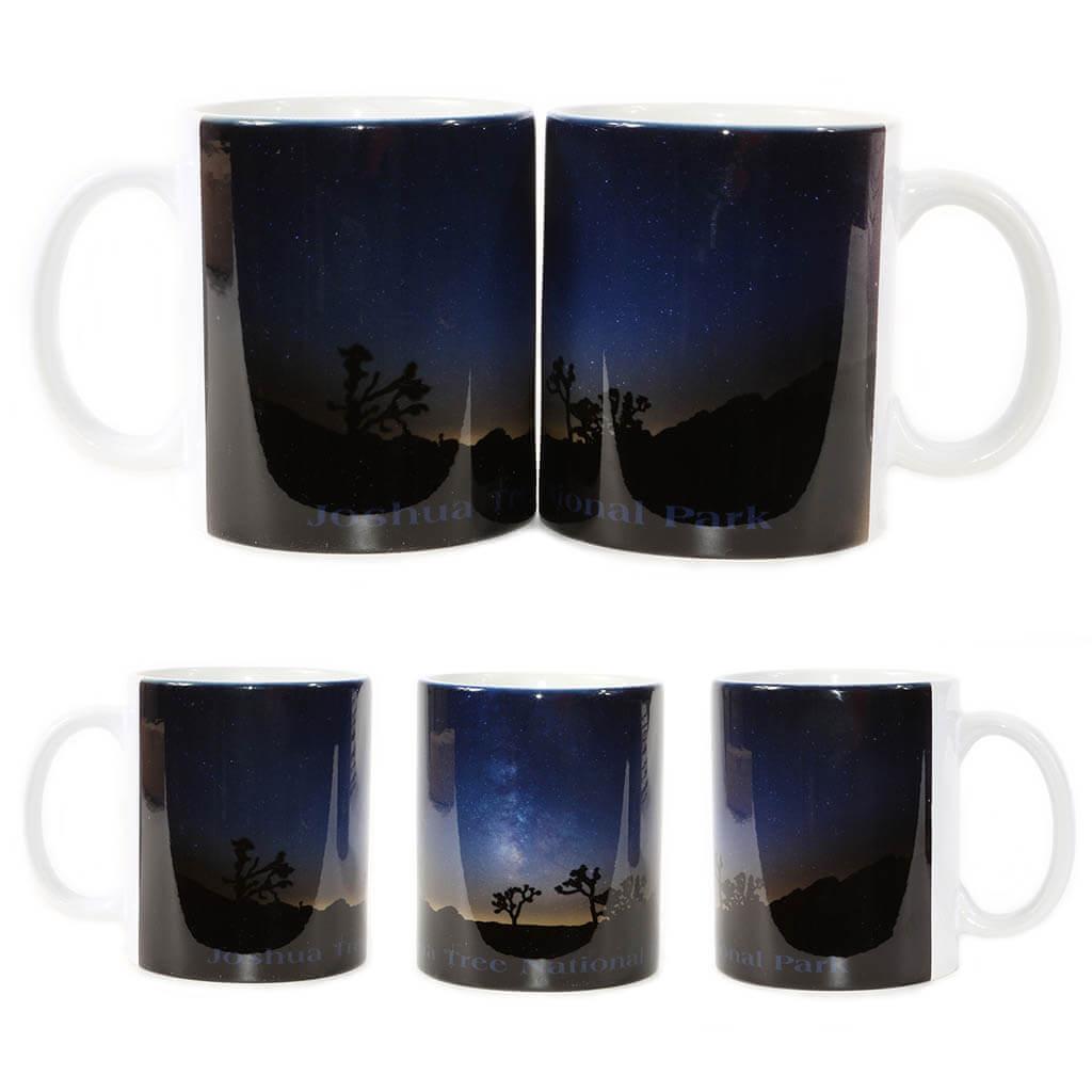 Joshua Tree Milky Way Galaxy Mug