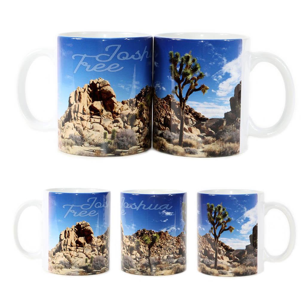 Joshua Tree Deep Blue Sky Mug