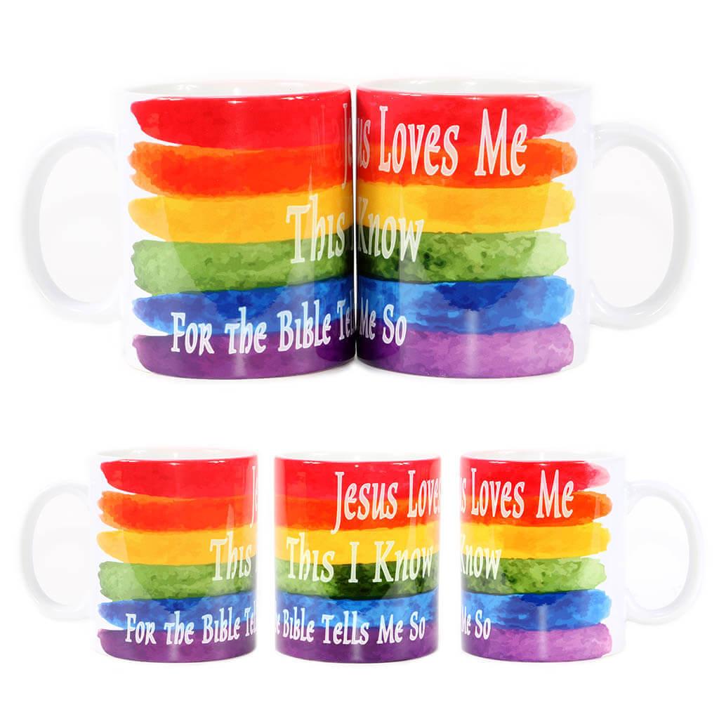 LGBTQ Jesus Love Me Mug
