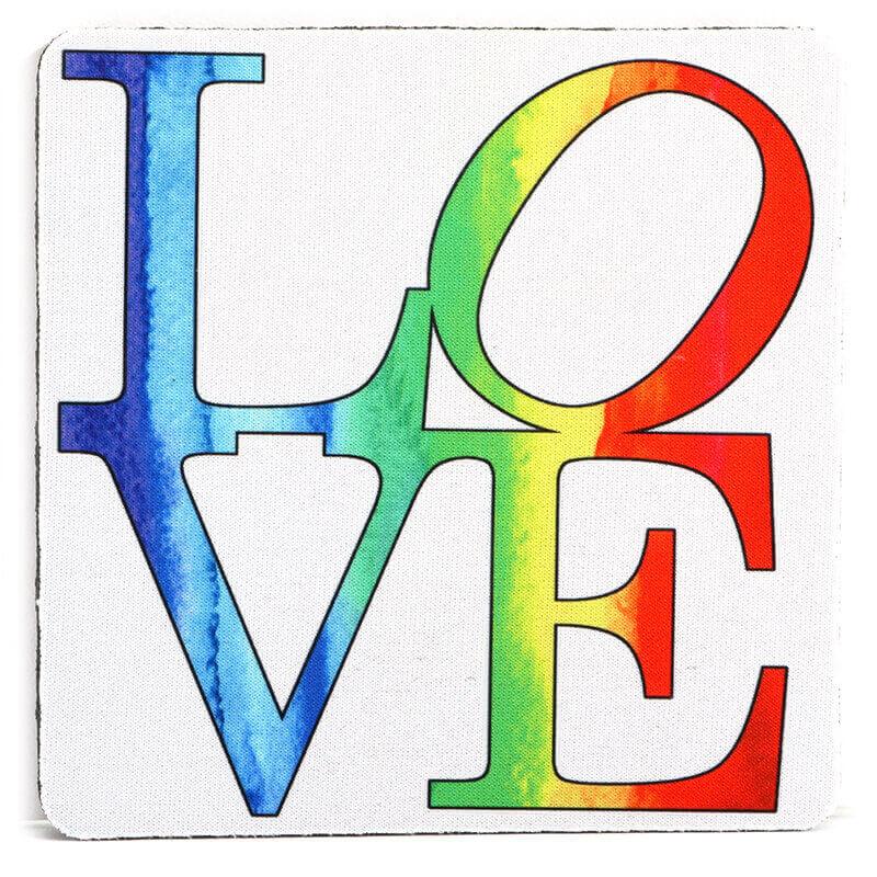 Love Rainbow Coaster
