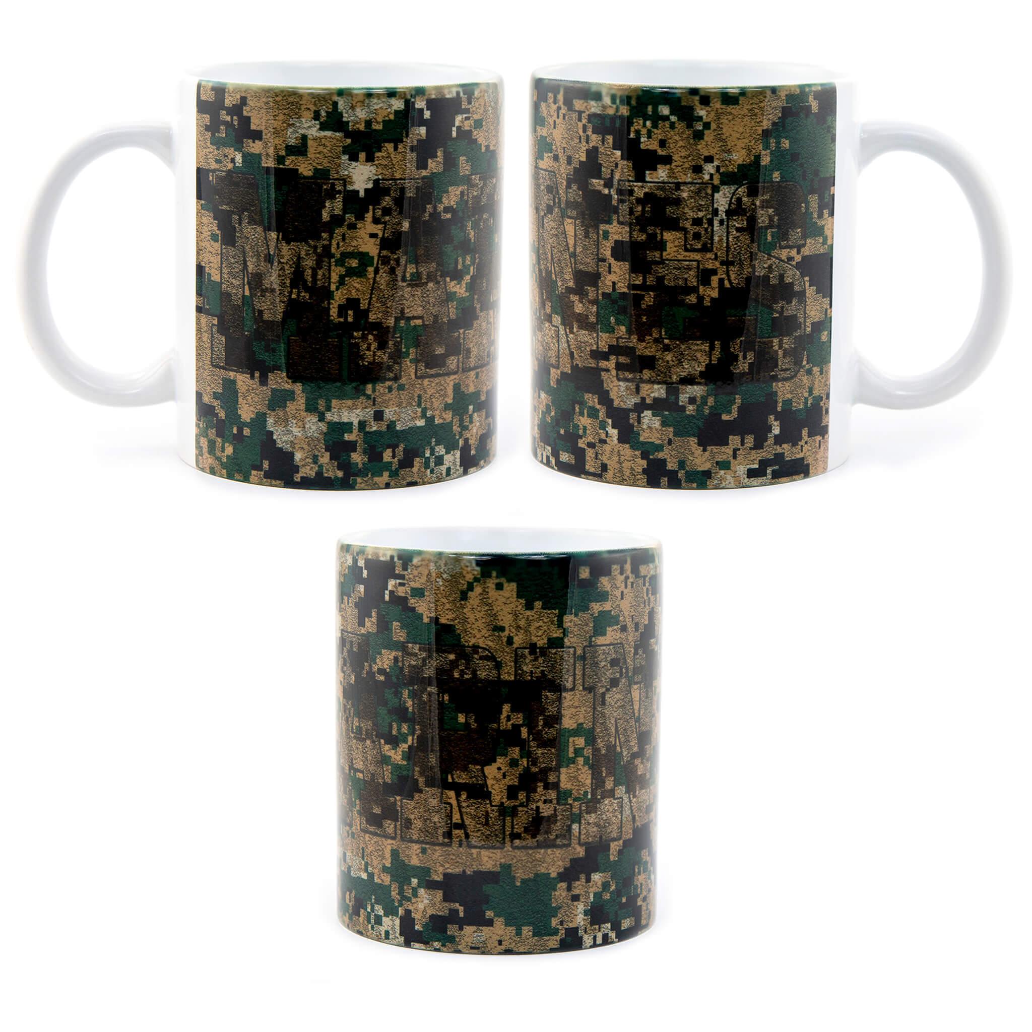 Marines Camo Mug