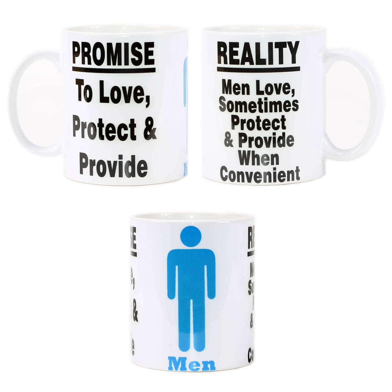 Men, Promises & Reality Mug