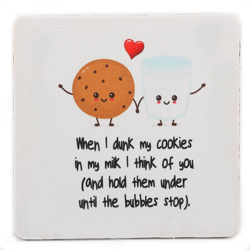 Milk and Cookies Coaster