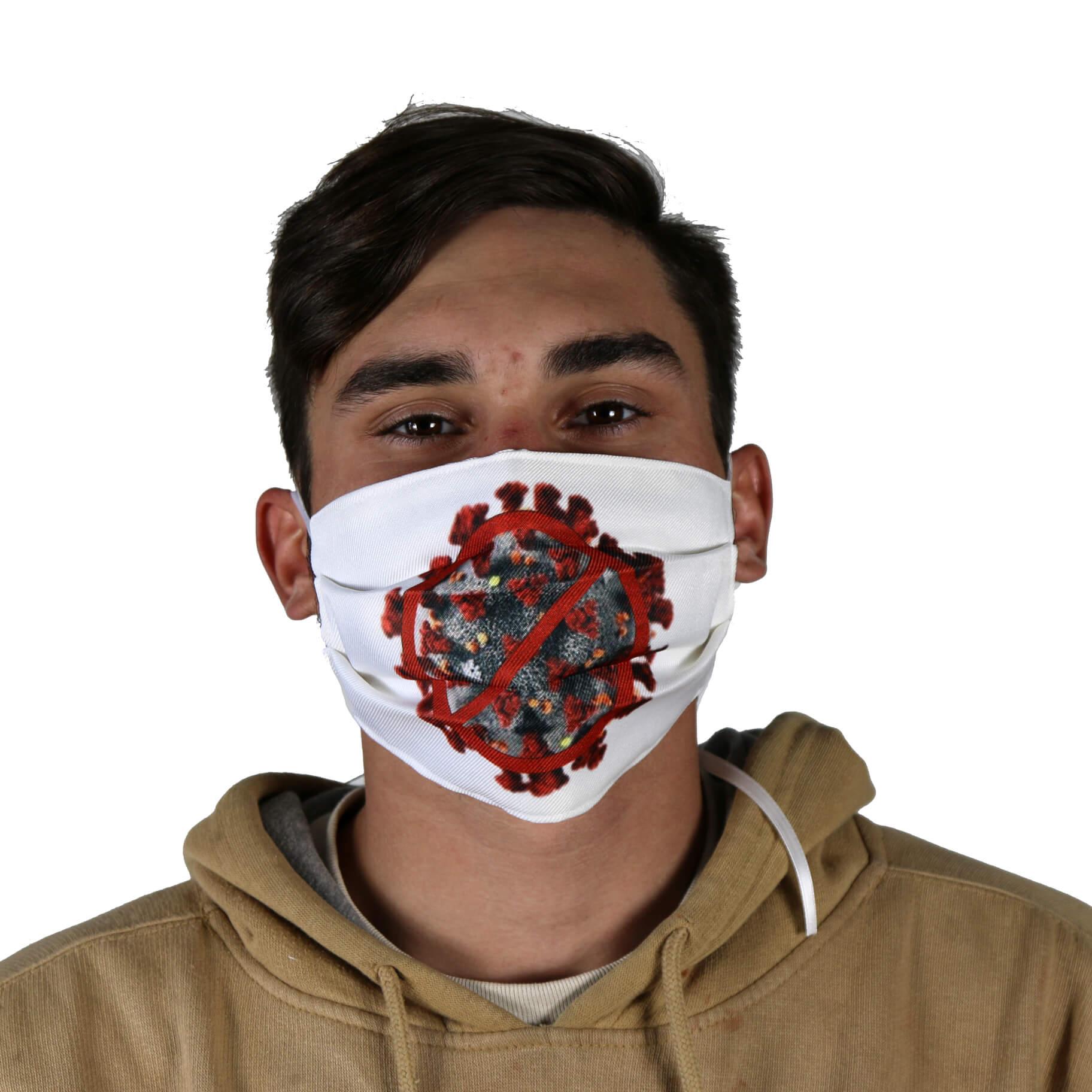 NO Covid 19 Virus Face Mask