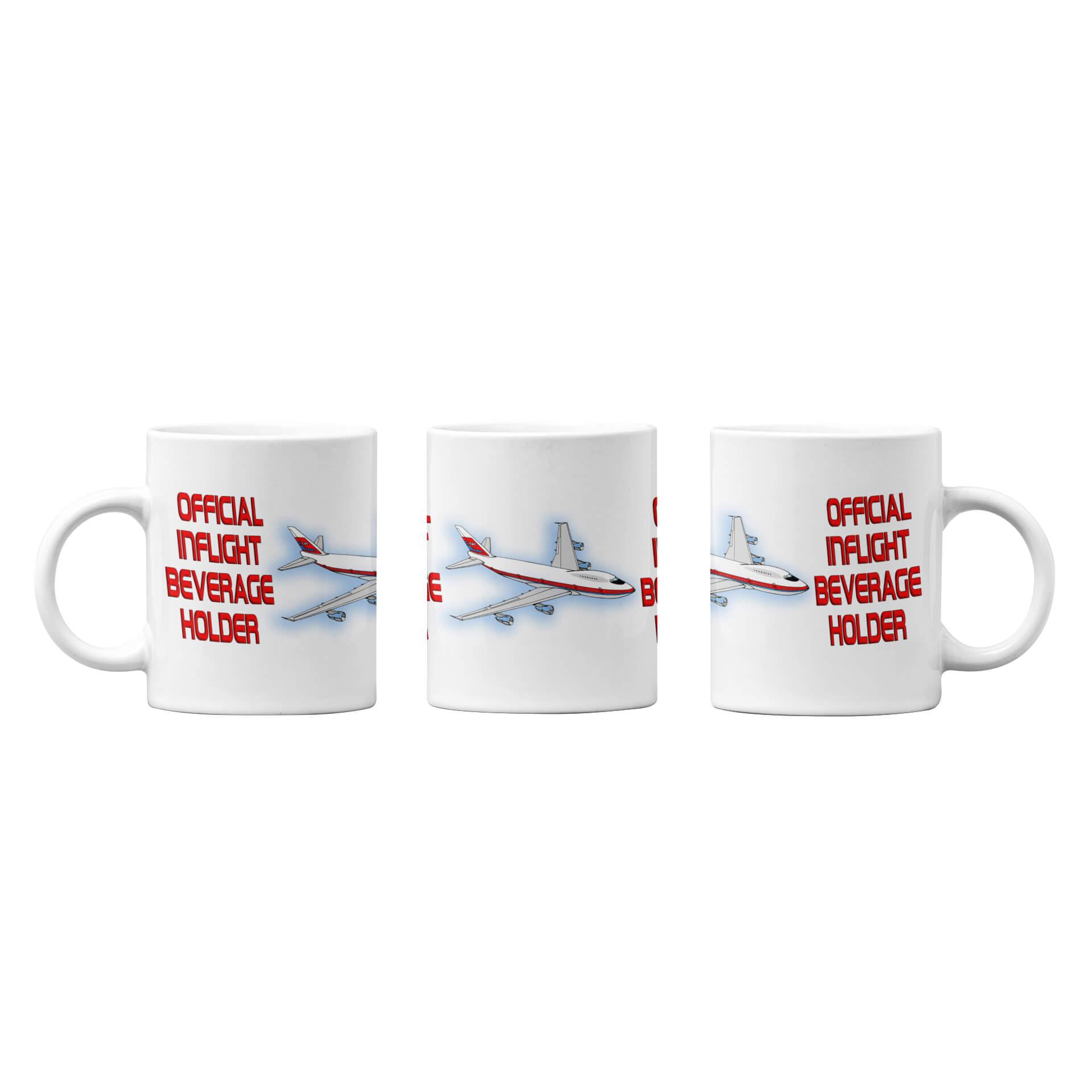 Official Inflight Beverage Holder Mug