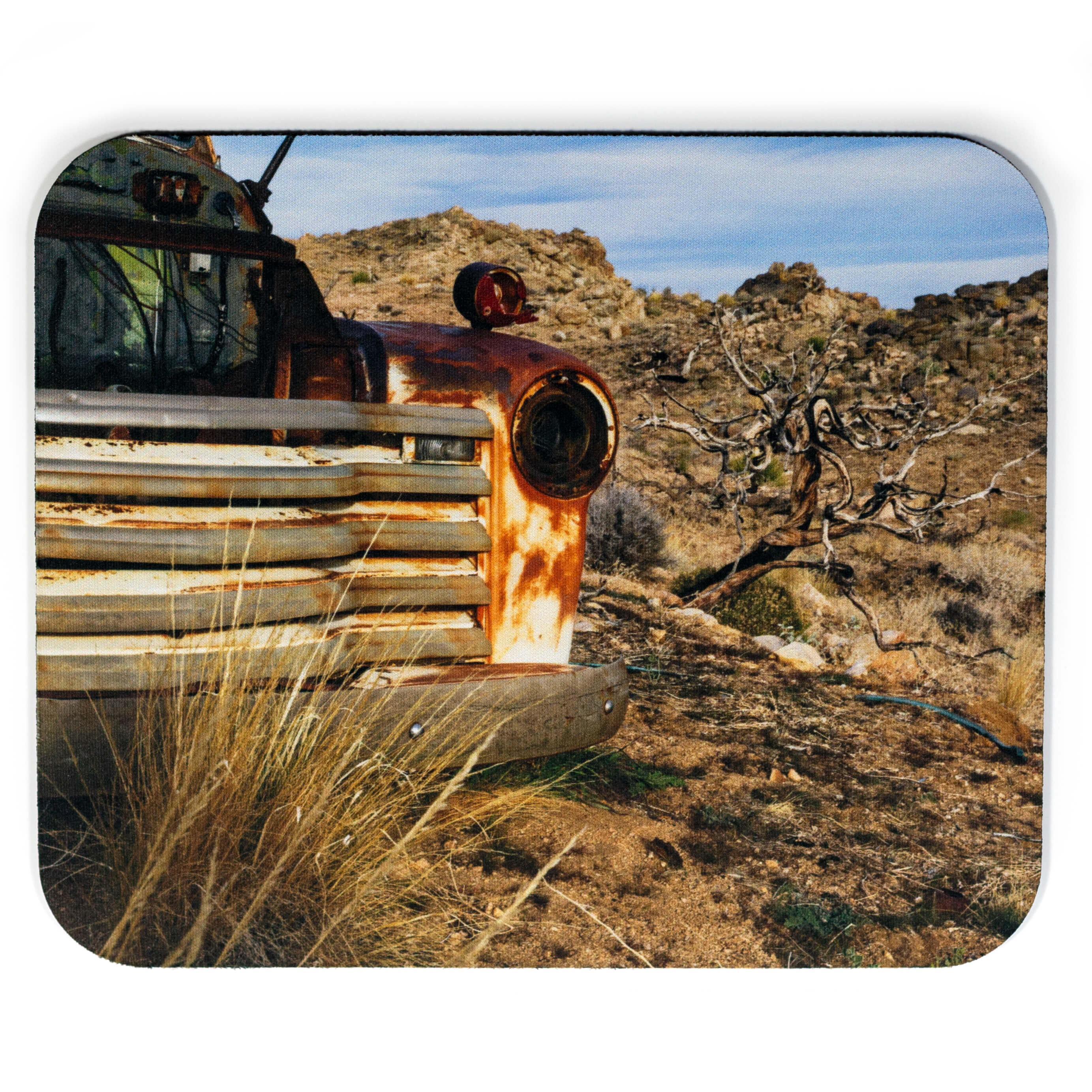 Old Rusted Truck Mousepad