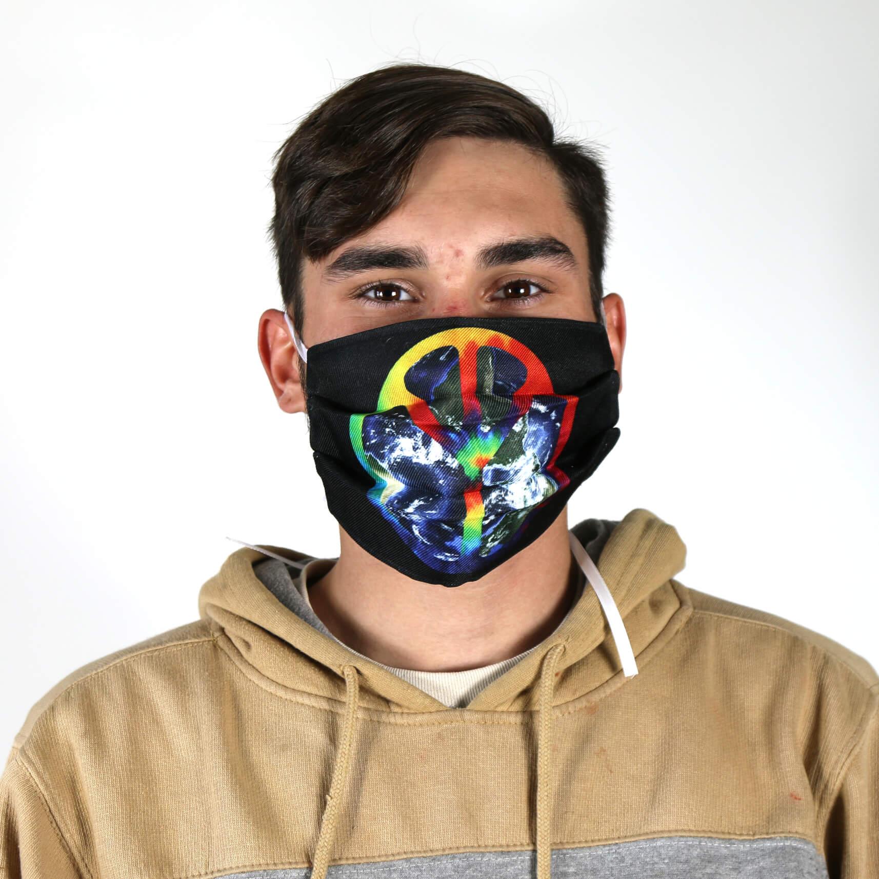 Peace on Earth Face Mask
