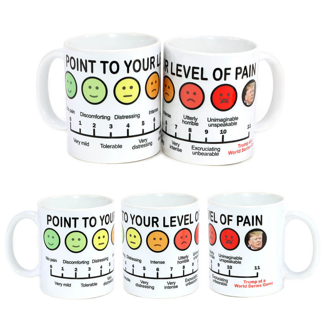 Point to Your Level of Pain Mug