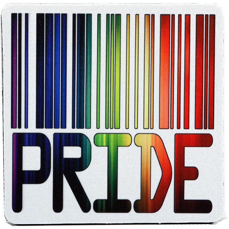 Pride Bar Code Coaster