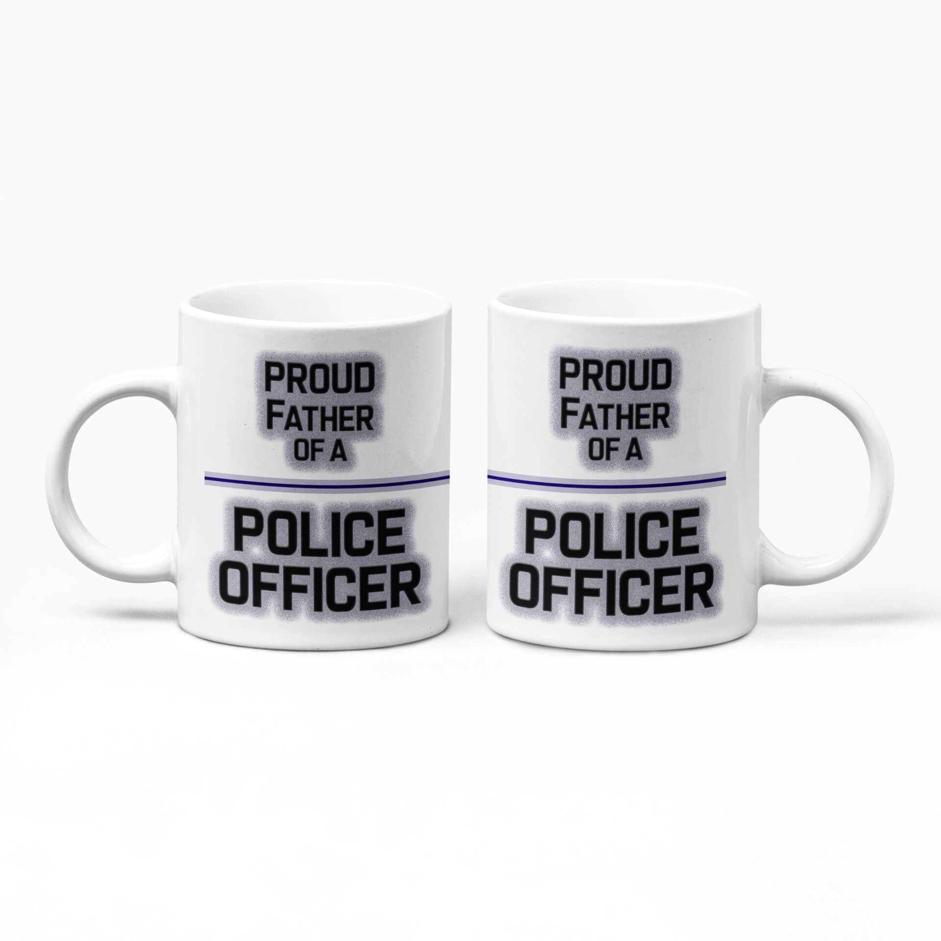 Proud Father of a Police Officer Mug