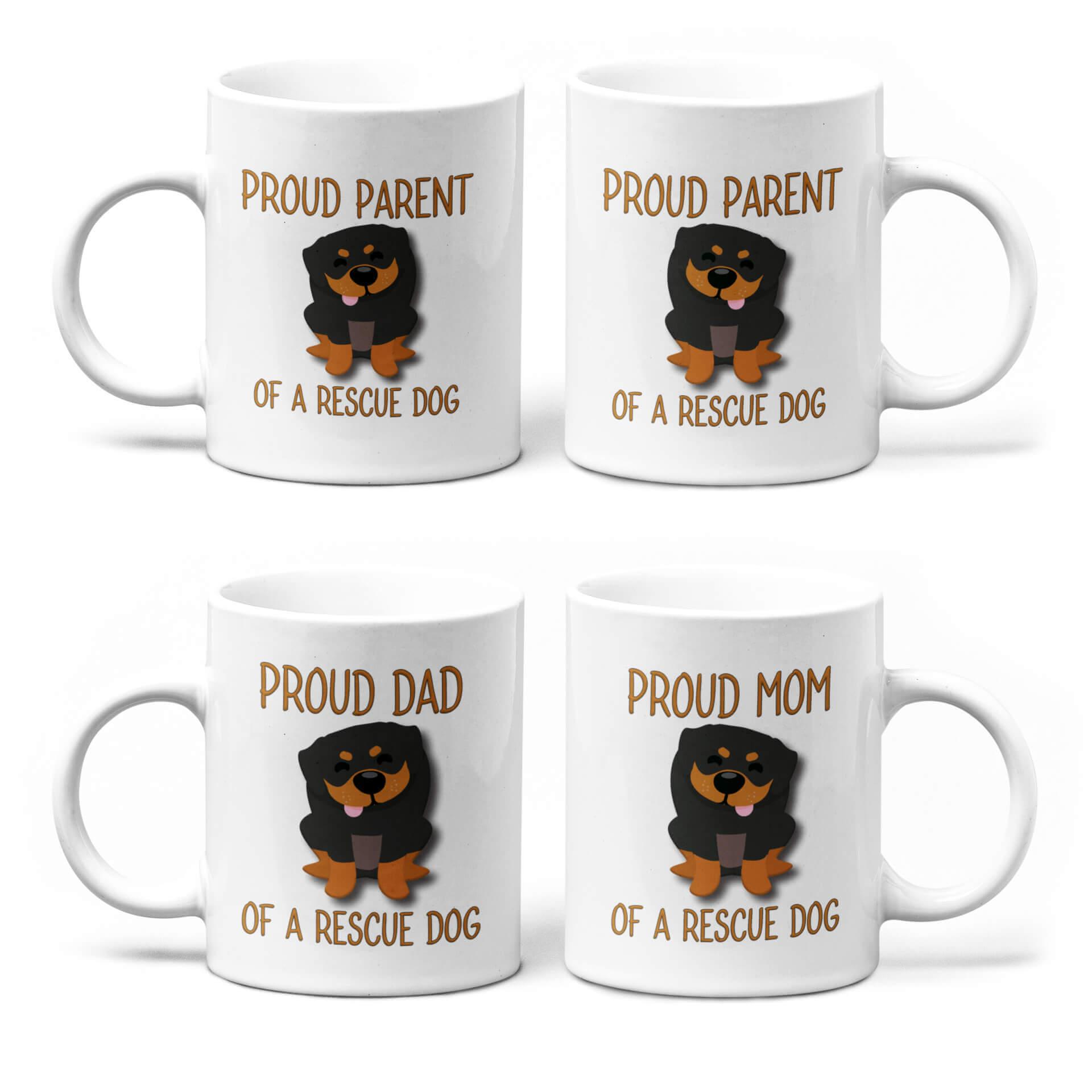 Proud Parent of a Rescue Dog Mug