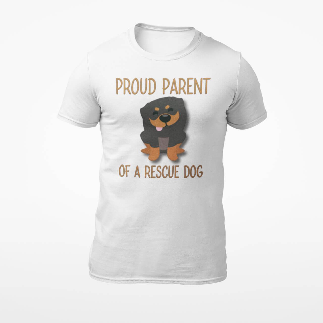 Proud Parent of a Rescue Dog T-Shirt