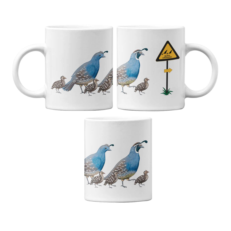 Quail Crossing Mug
