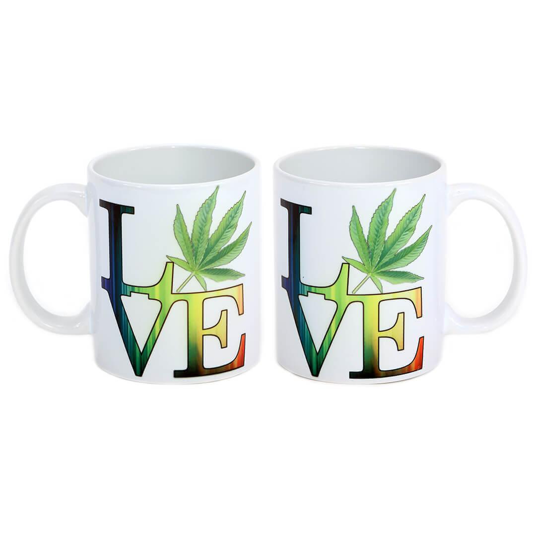 Rainbow Pot Love Mug