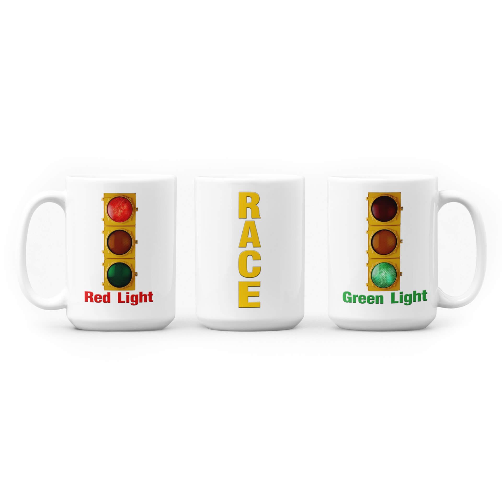 Red Light - Green Light: Race Mug