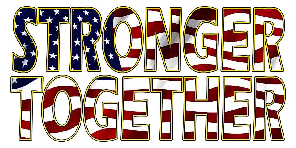 Stronger Together Sticker