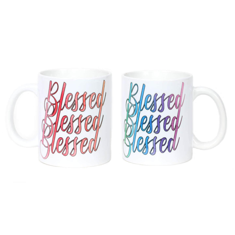 Triple Blessed Mug