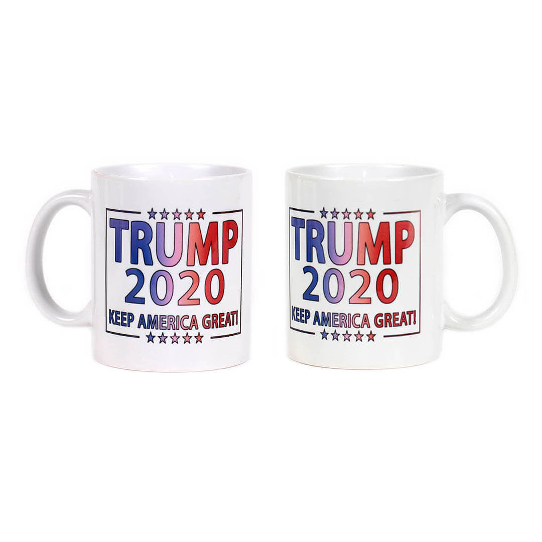 Trump 2020 - Keep America Great Gradient Mug