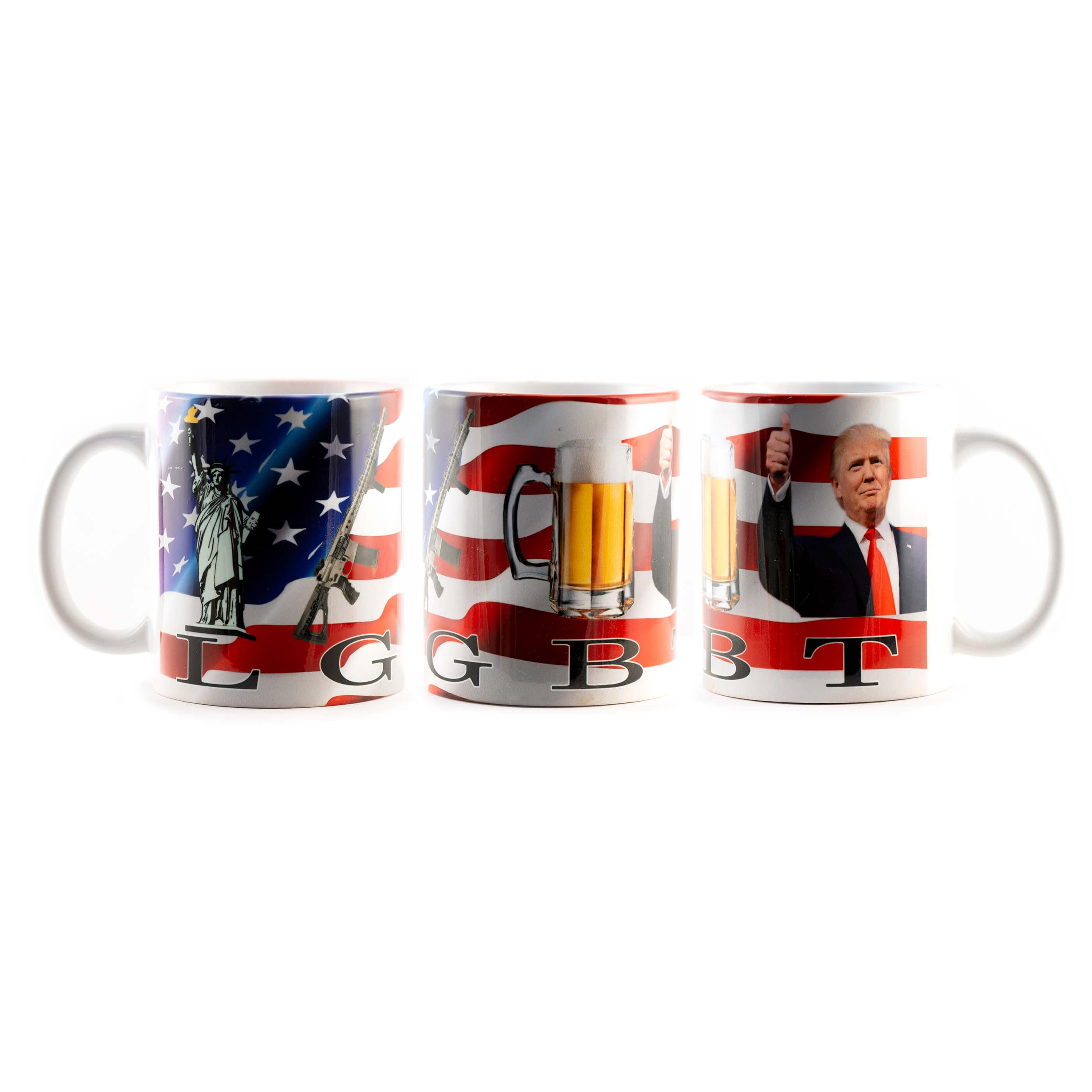 Trump LGBT Mug