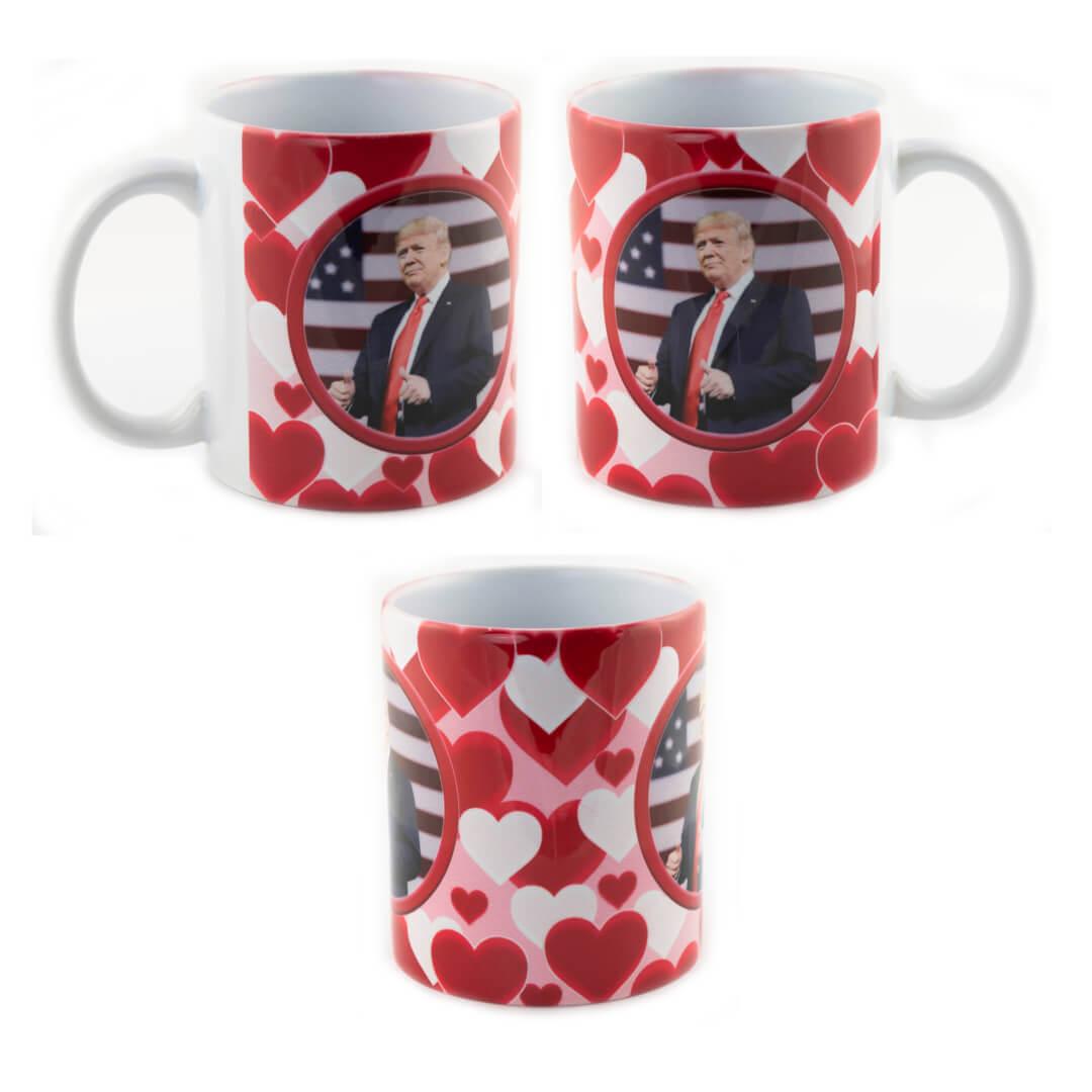 Trump Valentine Mug