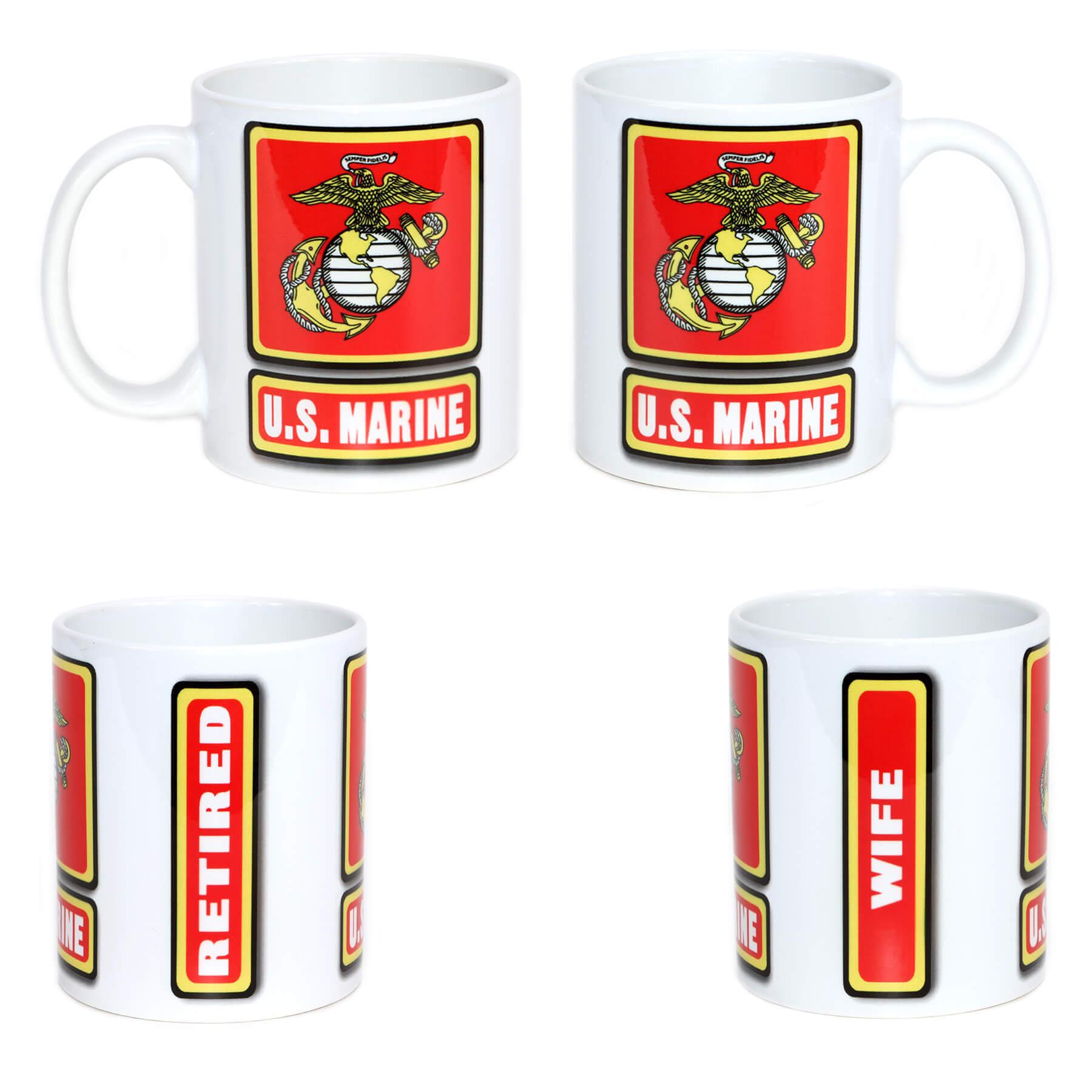 U.S. Marine Mug
