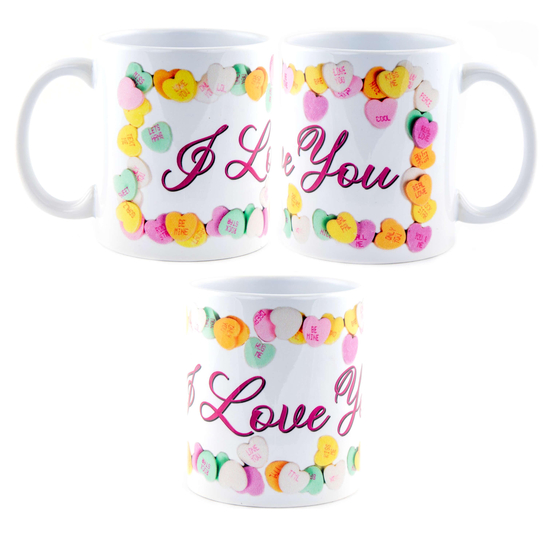 Valentine's I Love You Mug