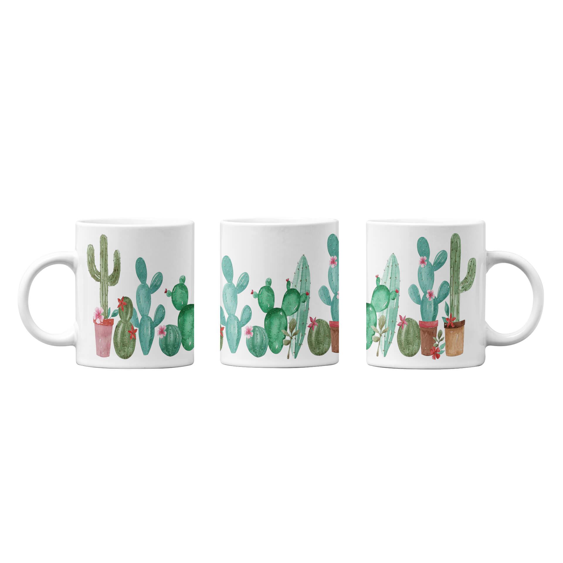 Water Color Cactus No. 1 Mug