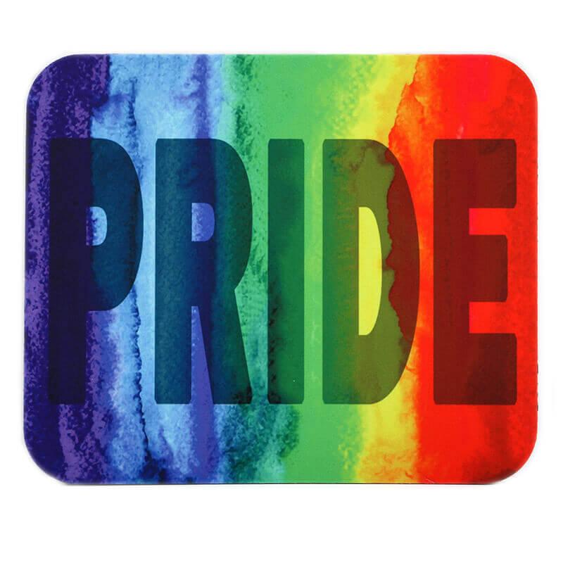 Pride Watercolor Rainbow Mousepad