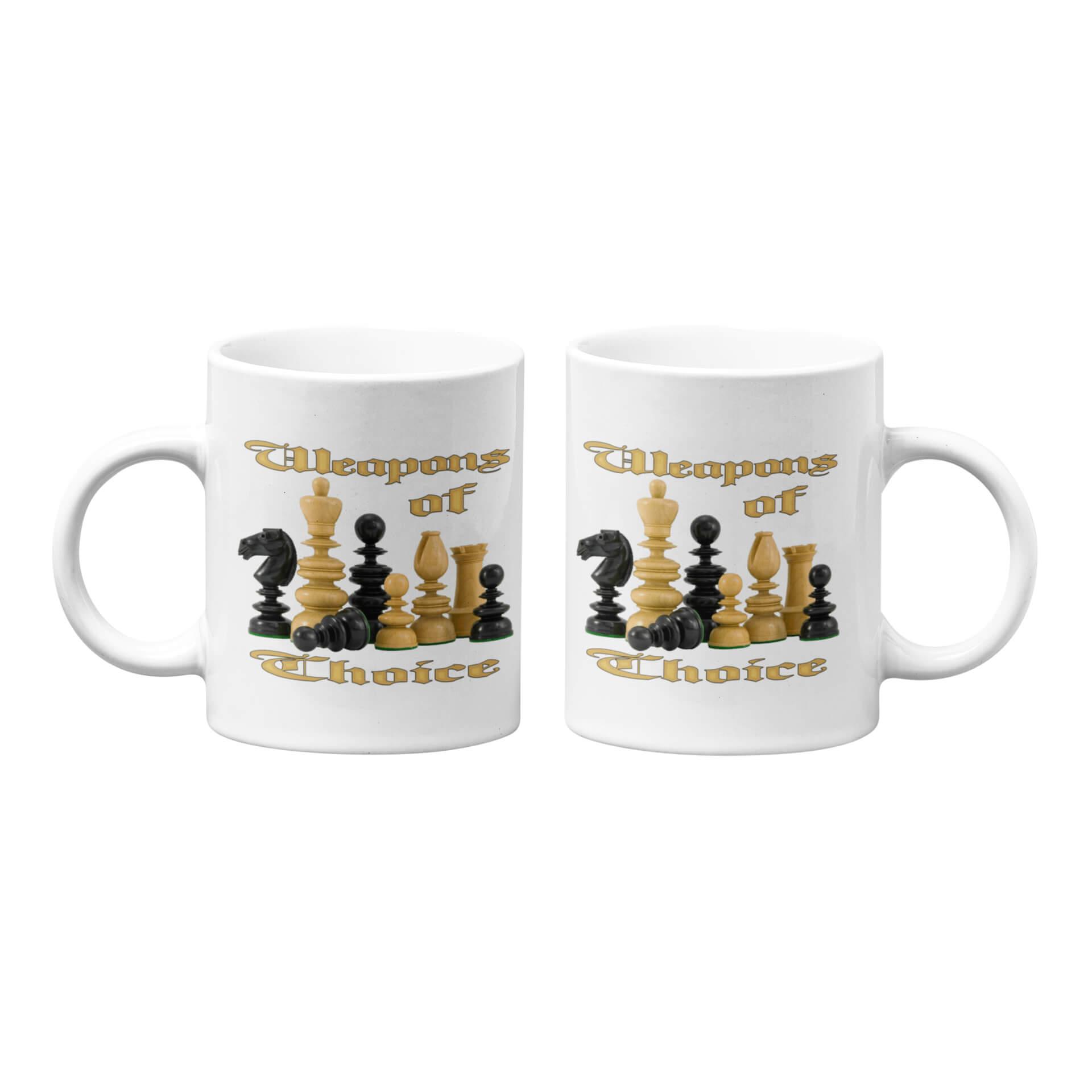 Weapons of Choice Mug