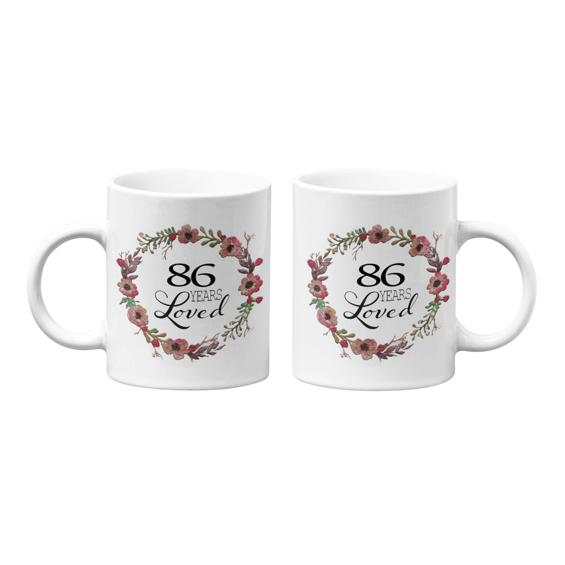 Number of Years Loved Mug